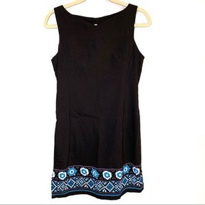 Rampage vintage black tank dress sz 9